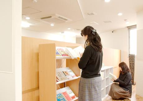 書籍・雑誌コーナー